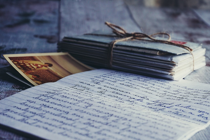 Letters and a picture